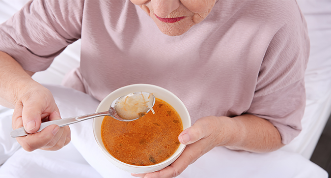 Convenient and healthy, delicious and nutritious, for many it's a go-to healthy lunch option but in the NHS, soup is often the only meal that patients can palate during recovery.