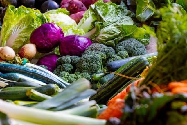 vegetables vegan